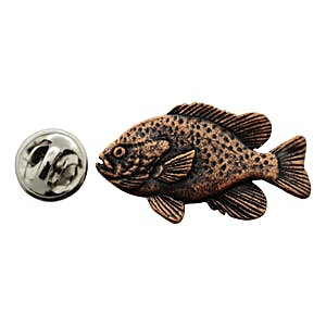 Sunfish Pin ~ Antiqued Copper ~ Lapel Pin ~ Sarah's Treats & Treasures