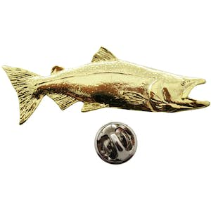 Chinook Pin ~ 24K Gold ~ Lapel Pin ~ 24K Gold Lapel Pin ~ Sarah's Treats & Treasures