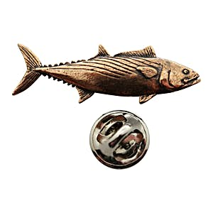 Bonito Pin ~ Antiqued Copper ~ Lapel Pin ~ Sarah's Treats & Treasures