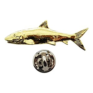 Bonefish Pin ~ 24K Gold ~ Lapel Pin ~ Sarah's Treats & Treasures