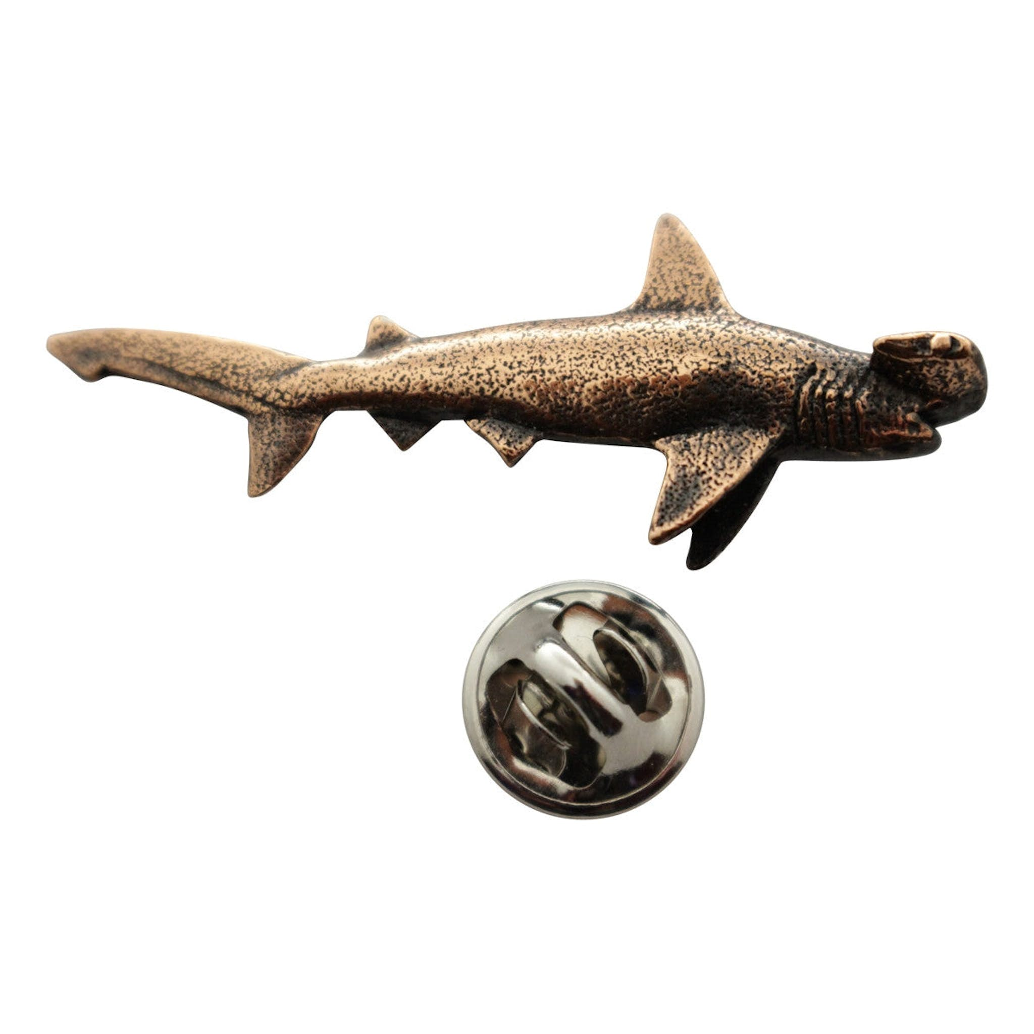 shark hammerhead diamond pin bling gold tooth necklace pinterest
