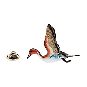Pintail Flying Pin ~ Hand Painted ~ Lapel Pin ~ Hand Painted Lapel Pin ~ Sarah's Treats & Treasures
