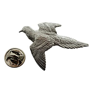 Dove Pin ~ Antiqued Pewter ~ Lapel Pin ~ Sarah's Treats & Treasures