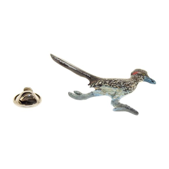 Roadrunner Pin ~ Hand Painted ~ Lapel Pin ~ Hand Painted Lapel Pin ~ Sarah's Treats & Treasures