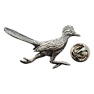 Roadrunner Pin ~ Antiqued Pewter ~ Lapel Pin ~ Sarah's Treats & Treasures