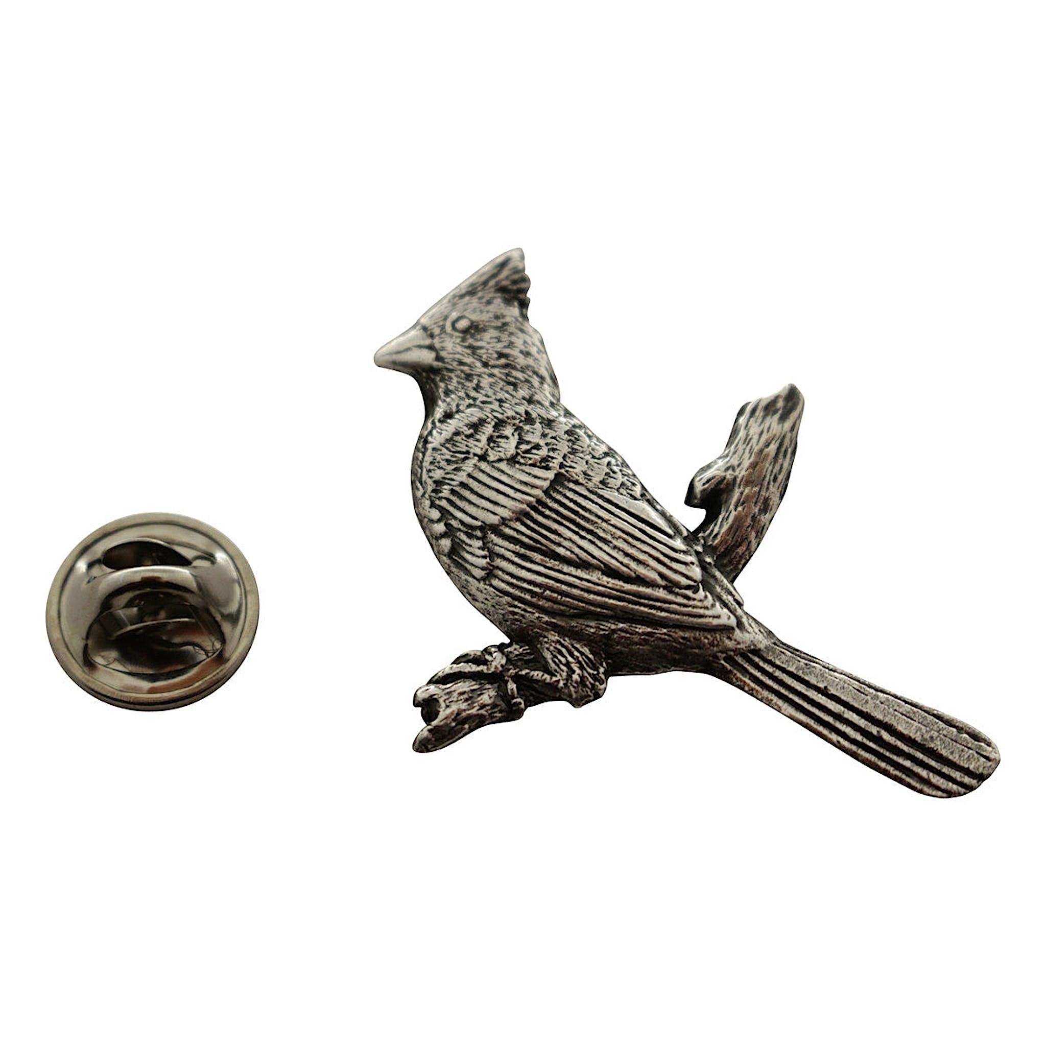 7f23bb3dd84f Cardinal Pin ~ Antiqued Pewter ~ Lapel Pin ~ Antiqued Pewter Lapel Pin ~  Sarah's Treats