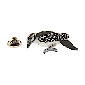 Woodpecker Pin ~ Hand Painted ~ Lapel Pin ~ Hand Painted Lapel Pin ~ Sarah's Treats & Treasures