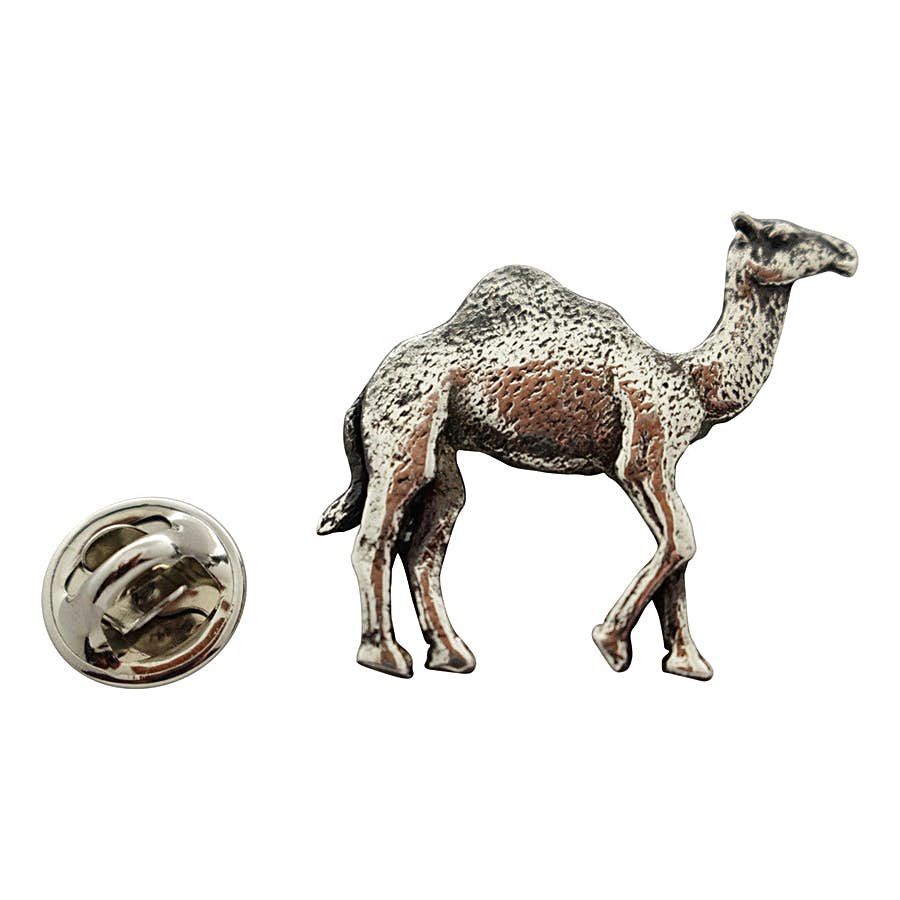 Camel Pin ~ Antiqued Pewter ~ Lapel Pin ~ Antiqued Pewter Lapel Pin ~ Sarah's Treats & Treasures