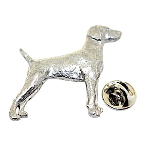 Weimaraner Pin ~ Antiqued Pewter ~ Lapel Pin ~ Sarah's Treats & Treasures