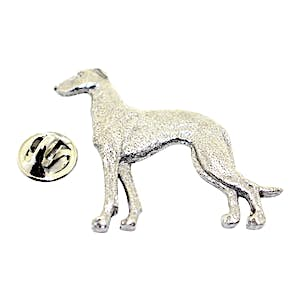 Greyhound Pin ~ Antiqued Pewter ~ Lapel Pin ~ Sarah's Treats & Treasures