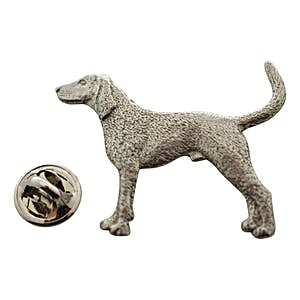 Coon Hound Pin ~ Antiqued Pewter ~ Lapel Pin ~ Antiqued Pewter Lapel Pin ~ Sarah's Treats & Treasures