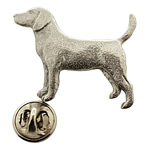 Beagle Pin ~ Antiqued Pewter ~ Lapel Pin ~ Sarah's Treats & Treasures