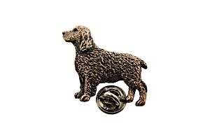 Springer Spaniel Pin ~ Antiqued Copper ~ Lapel Pin ~ Sarah's Treats & Treasures