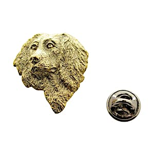 Boykin Head Pin ~ 24K Gold ~ Lapel Pin ~ Sarah's Treats & Treasures