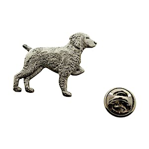 Brittany Pin ~ Antiqued Pewter ~ Lapel Pin ~ Sarah's Treats & Treasures
