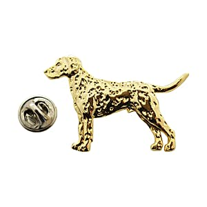 Dalmatian Pin ~ 24K Gold ~ Lapel Pin ~ Sarah's Treats & Treasures