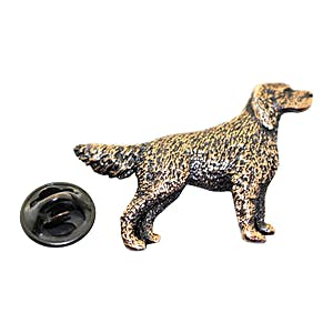 English Setter Dog Pin ~ Antiqued Copper ~ Lapel Pin ~ Sarah's Treats & Treasures