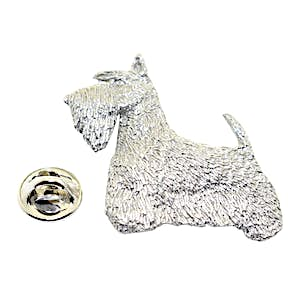 Scotty or Scottish Terrier Pin ~ Antiqued Pewter ~ Lapel Pin ~ Sarah's Treats & Treasures