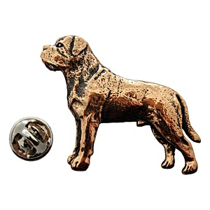 Mastiff Pin ~ Antiqued Copper ~ Lapel Pin ~ Sarah's Treats & Treasures