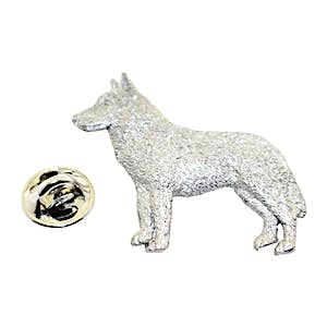 Husky Pin ~ Antiqued Pewter ~ Lapel Pin ~ Sarah's Treats & Treasures