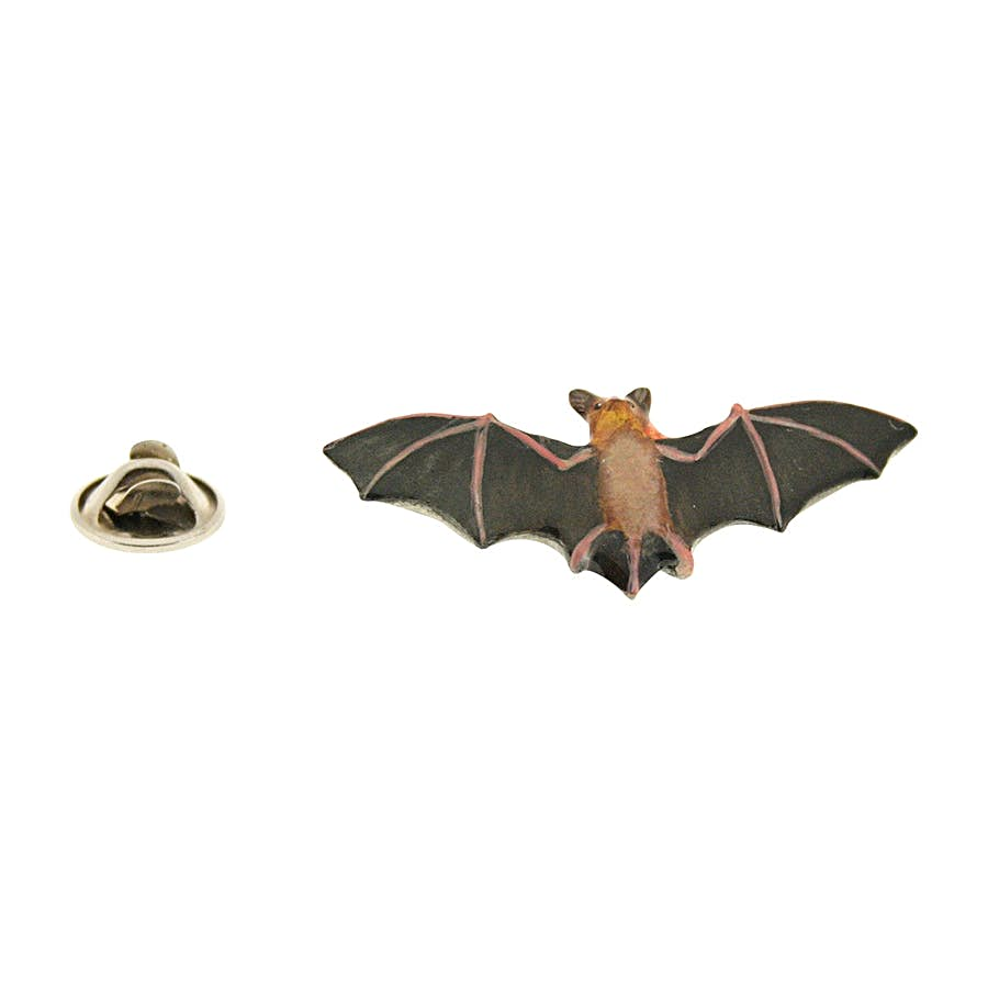 Bat Pin ~ Hand Painted ~ Lapel Pin ~ Sarah's Treats & Treasures