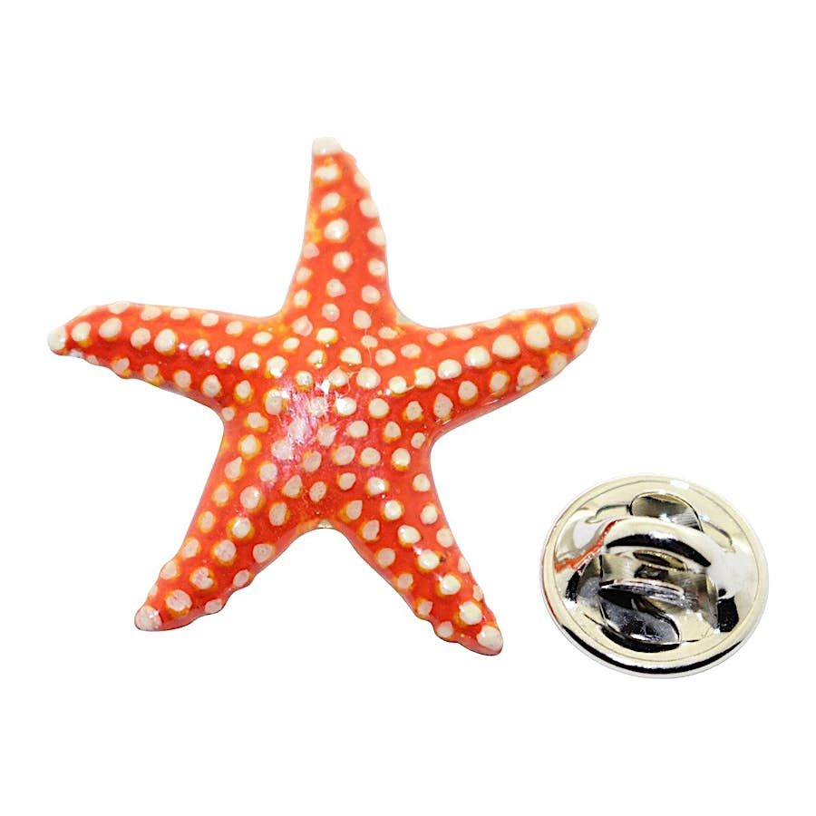Starfish Pin ~ Hand Painted ~ Lapel Pin ~ Hand Painted Lapel Pin ~ Sarah's Treats & Treasures