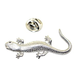 Salamander Pin ~ Antiqued Pewter ~ Lapel Pin ~ Sarah's Treats & Treasures