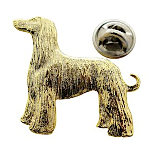 Afghan Pin ~ 24K Gold ~ Lapel Pin ~ Sarah's Treats & Treasures