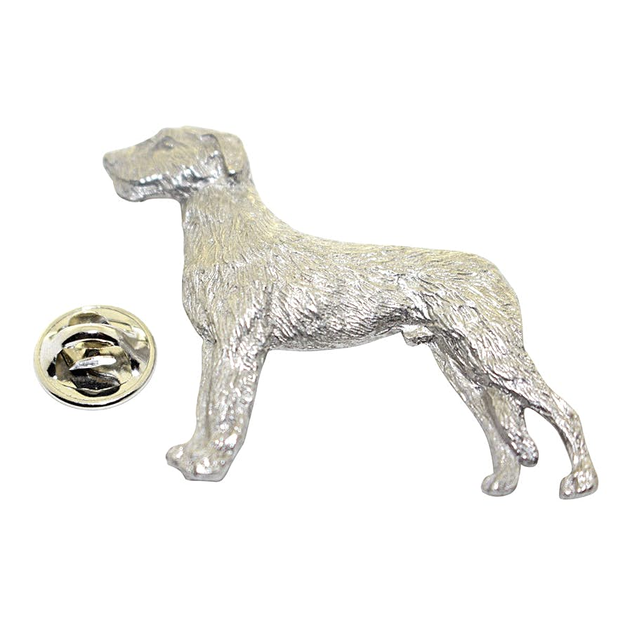 Irish Wolfhound Pin ~ Antiqued Pewter ~ Lapel Pin ~ Sarah's Treats & Treasures