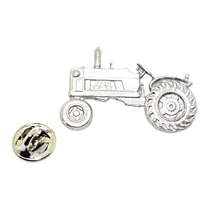 Tractor Pin ~ Antiqued Pewter ~ Lapel Pin ~ Sarah's Treats & Treasures