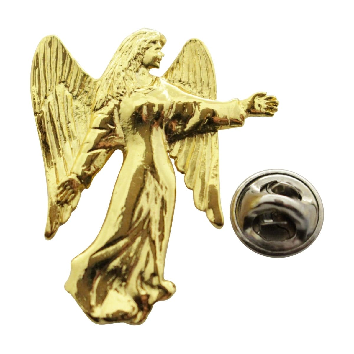 Angel Pin ~ 24K Gold ~ Lapel Pin ~ Sarah's Treats & Treasures