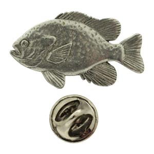 Sunfish Pin ~ Antiqued Pewter ~ Lapel Pin ~ Sarah's Treats & Treasures