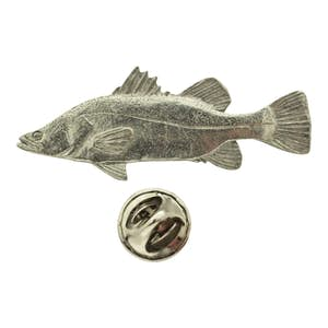 Barramundi Pin ~ Antiqued Pewter ~ Lapel Pin ~ Sarah's Treats & Treasures