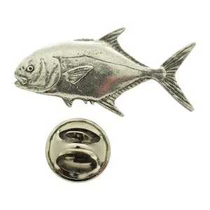 Permit Pin ~ Antiqued Pewter ~ Lapel Pin ~ Sarah's Treats & Treasures