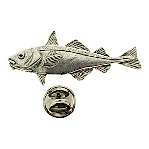 Haddock Pin ~ Antiqued Pewter ~ Lapel Pin ~ Sarah's Treats & Treasures