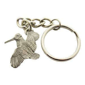 Woodcock Keychain ~ Antiqued Pewter ~ Keychain ~ Antiqued Pewter Keychain ~ Sarah's Treats & Treasures