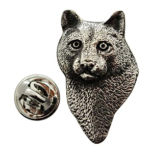 Cougar or Mountain Lion Head Pin ~ Antiqued Pewter ~ Lapel Pin ~ Antiqued Pewter Lapel Pin ~ Sarah's Treats & Treasures