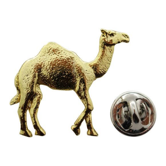 Camel Pin ~ 24K Gold ~ Lapel Pin ~ 24K Gold Lapel Pin ~ Sarah's Treats & Treasures