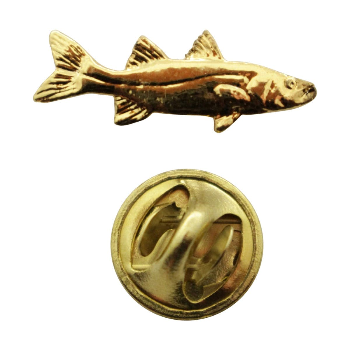Fashion Jewelry Jewelry & Watches Dolphin Mini Pin ~ 24k Gold ~ Miniature Lapel Pin