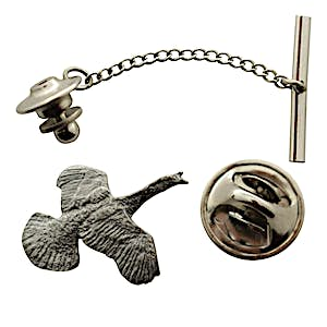 Turkey Tie Tack ~ Antiqued Pewter ~ Tie Tack or Pin ~ Antiqued Pewter Tie Tack or Pin ~ Sarah's Treats & Treasures