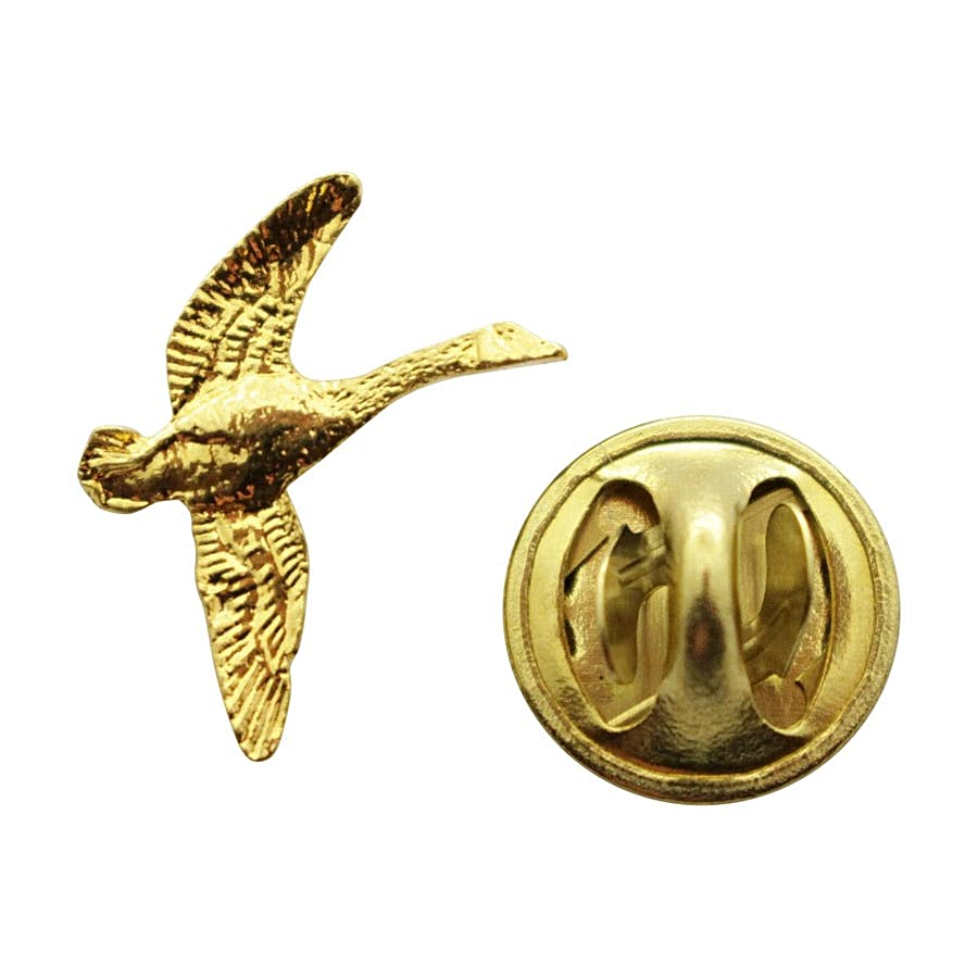 Canada Goose Mini Pin ~ 24K Gold ~ Miniature Lapel Pin ~ 24K Gold Miniature Lapel Pin ~ Sarah's Treats & Treasures