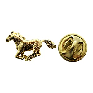 Horse Mini Pin ~ 24K Gold ~ Miniature Lapel Pin ~ 24K Gold Miniature Lapel Pin ~ Sarah's Treats & Treasures