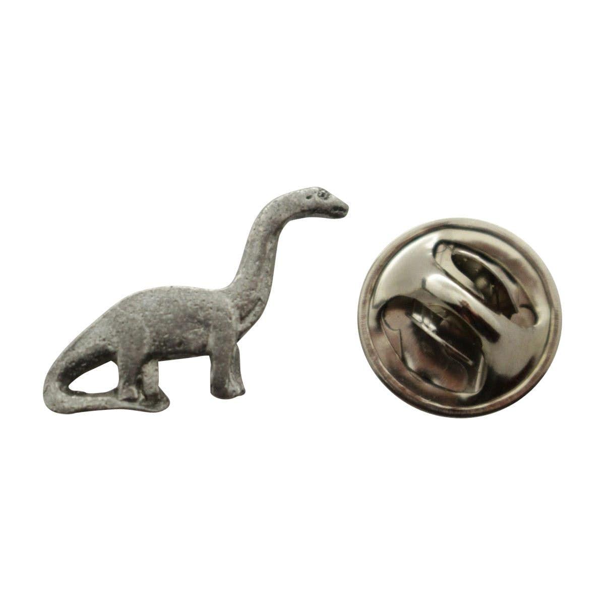 Awesome Brontosaurus Mini Pin ~ Antiqued Pewter ~ Miniature Lapel Pin ~ Sarahu0027s  Treats U0026 Treasures