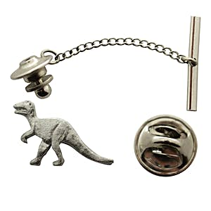 T Rex or Tyrannosaurus Tie Tack ~ Antiqued Pewter ~ Tie Tack or Pin ~ Antiqued Pewter Tie Tack or Pin ~ Sarah's Treats & Treasures